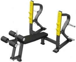 Insight Gym Скамья стойка для жима под углом вниз IG-628 (DH028)