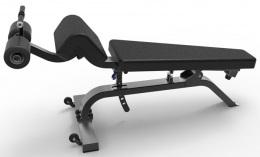 LWS9 Регулируемая скамейка для пресса и спины LWS-9037