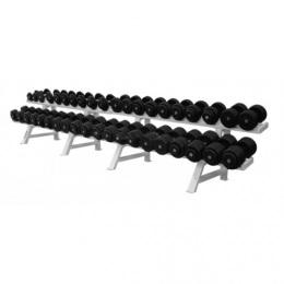 Barbell Гантельный ряд от 3.5 до 26 кг. 10 пар с шагом 2.5 кг.