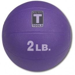 Тренировочный мяч Медбол 0,9 кг (2lb)