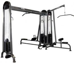 Четырехсторонний грузоблочный тренажер 5 стеков PG21-С