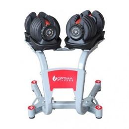 Стенд под регулируемую гантель Optima Fitness 24/40 кг