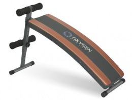 OXYGEN ARC SIT UP BOARD Скамья для пресса изогнутая для дома