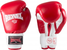 Перчатки боксерские RV- 101, 14oz, к/з, красный