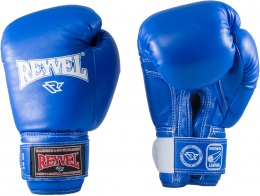 Перчатки боксерские RV-101, 12oz, к/з, синий