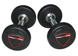 Набор полиуретановых гантелей от 22,5 до 30 кг PANGOLIN DB006PU