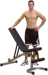 Body-Solid Powerline PFID130 Регулируемая скамья для пресса и жима штанги, гантелей