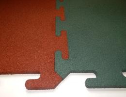Резиновая плитка Rubblех Puzzle Standart 1000x1000x25 мм