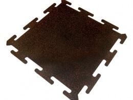 Резиновая плитка Rubblex Sport Puzzle Mix (30%) 1000x1000x25 мм