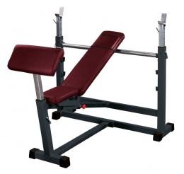 Prof Line SТ-314.2 Скамейка для жима универсальная (в комплекте приставка для ног и Скотта)