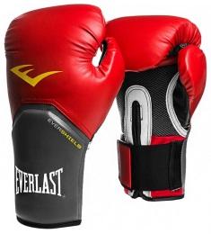 Перчатки боксерские Pro Style Elite 2112E, к/з, красный