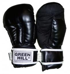 Перчатки для смешанных единоборств PG-2047B, к/з, черный