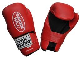 Перчатки для смешанных единоборств 7-contact SCG-2048c/а, к/з, красный