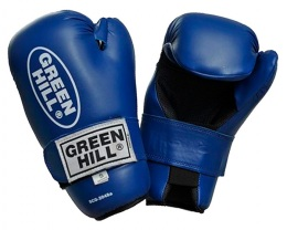 Перчатки для смешанных единоборств 7-contact SCG-2048c/а, к/з, синий