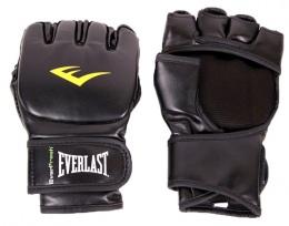 Перчатки для смешанных единоборств Martial Arts Grappling 7560SMU, S/M, к/з, черный