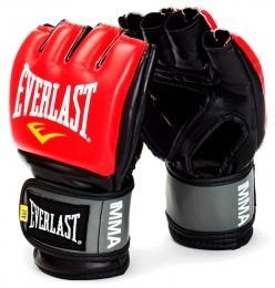 Перчатки для смешанных единоборств Pro Style Grappling 7778RLXLU, L/XL, к/з, красный