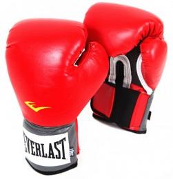 Перчатки боксерские Pro Style Anti-MB 2116U, 16oz, к/з, красный
