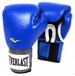 Перчатки боксерские Pro Style Anti-MB 2216U, 16oz, к/з, синий