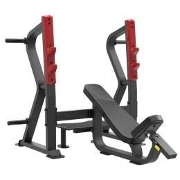 Aerofit Sterling SL7029 - Олимпийская скамья с положительным наклоном для жима
