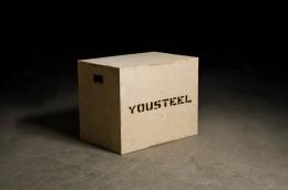 Кроссфит тумба деревянная YOUSTEEL
