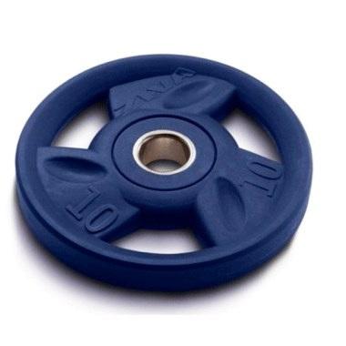 Диск олимпийский с уретановым покрытием 10 кг ZIVA ZVO