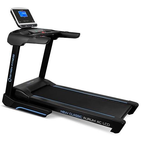 Полупрофессиональная беговая дорожка OXYGEN FITNESS NEW CLASSIC AURUM AC LCD