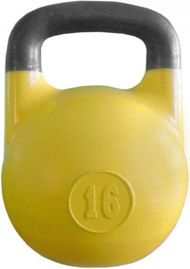ГС-16 Гиря соревновательная 16 кг желтая