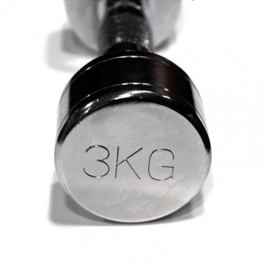 Гантели хромированные от 1 кг до 10кг