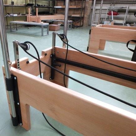 Комбинированный стол трапеция Кадаллак-Реформер Pilates Plus