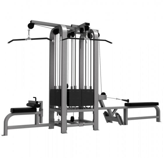 LWS9 Мультистанция 4-х позиционная 2*100 кг 2*70 кг LWS-9082