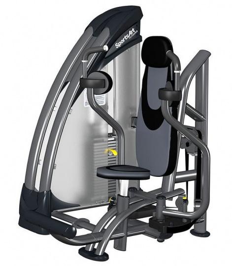 Sports Art S933 Тренажер Грудь-машина с грузоблоком