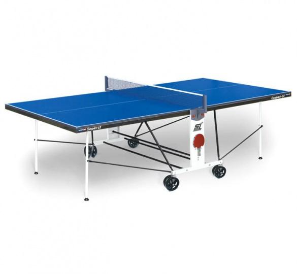 Стол для настольного тенниса Compact LX, с сеткой