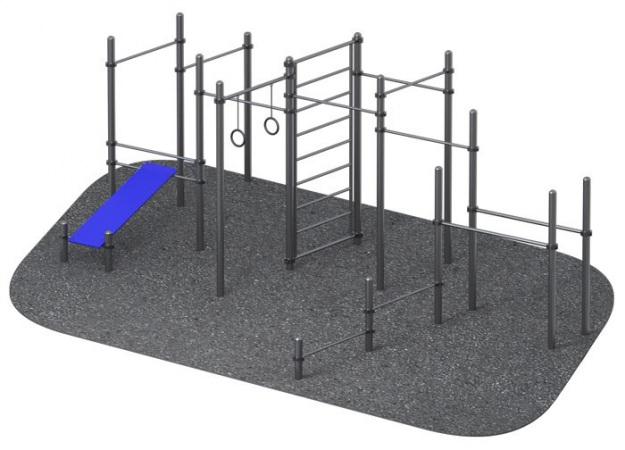 ARMS017 Уличный атлетический комплекс Гиперион