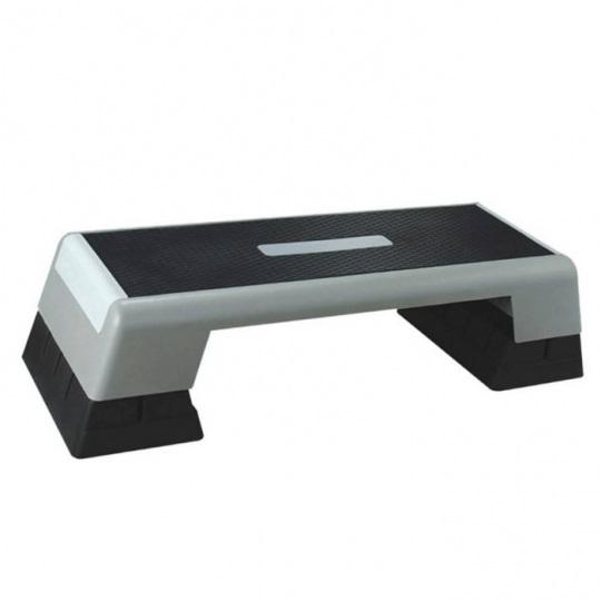 Степ-платформа FITEX PRO серая с черным, FTX-1710