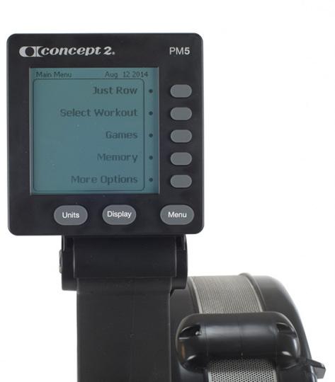 CONCEPT Гребной тренажер D (PM5)