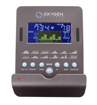 OXYGEN GX-65FD HRC+ Домашний эллиптический эргометр