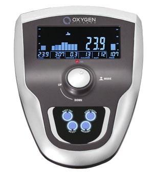 OXYGEN EX-45FD HRC+ Домашний эллиптический эргометр