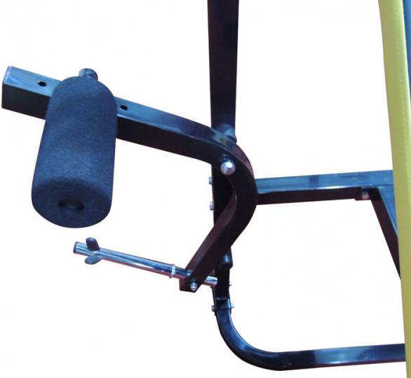 DFC Силовая скамья со стойками D002