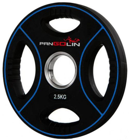 Диск олимпийский полиуретановый с 4-мя хватами 2,5 кг PANGOLIN WP012PU