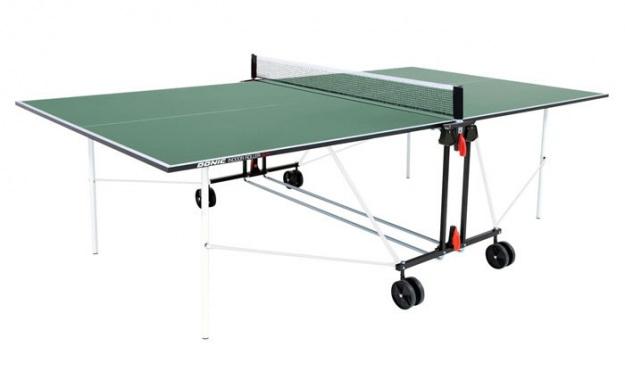 Теннисный стол Donic Indoor Roller SUN зеленый