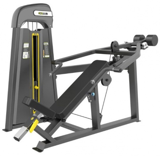 Evost Light E-3013 Наклонный грудной жим (Incline Press). Стек 109 кг.