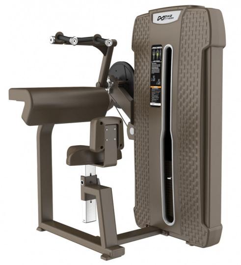 Style Pro-Series S-4027 Трицепс-машина сидя. Прямая парта. Стек 64 кг.