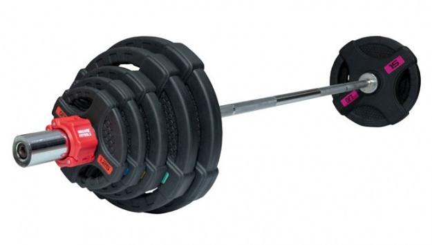 Штанга 83 кг (диски 50 мм с двумя хватами, гриф 180 см)