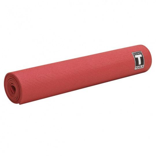 Коврик для йоги 5 мм красный