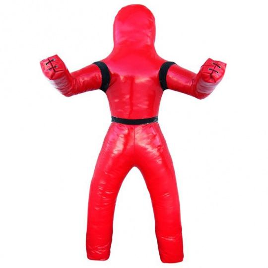 Манекен для борьбы и самбо двуногий, тент 900 гр/м2, наполн. резиновая крошка