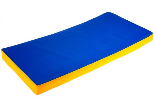 Мат гимнастический 100х200х10 см, винилискожа