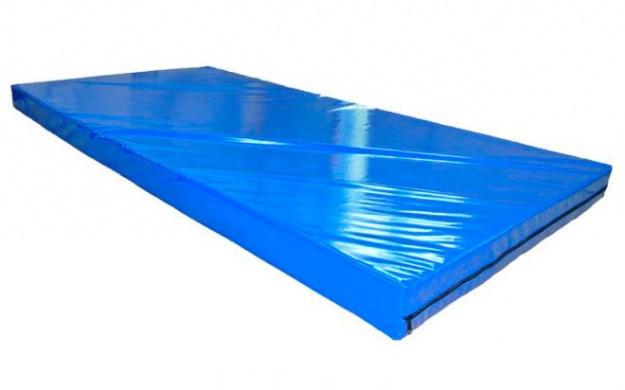 Мат гимнастический 1х2 метра, тент, толщина 4 см