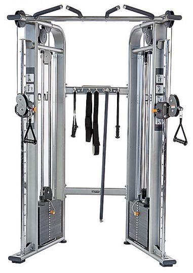 Inotec NL12 Двойная регулируемая тяга, функциональный тренинг, коэфицент выноса тяговых тросов 1 к 4, 2х300 ф