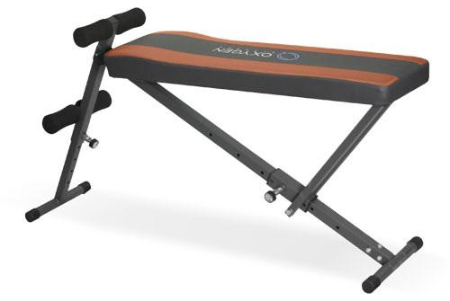 OXYGEN REG SIT UP BOARD Домашняя скамейка для пресса с регулируемым наклоном