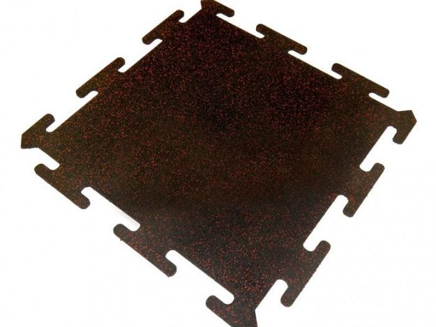 Резиновая плитка Rubblex Sport Puzzle Mix (30%) 1000x1000x10 мм